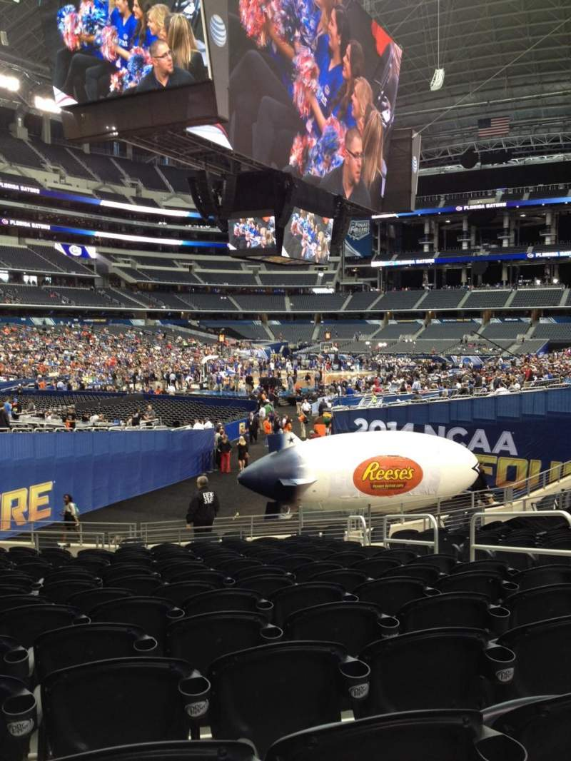 Seating view for AT&T Stadium Section 145 Row 17 Seat 6