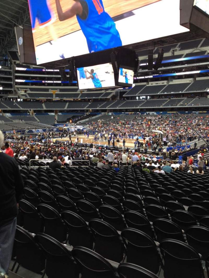 Seating view for AT&T Stadium Section C132 Row TT Seat 3