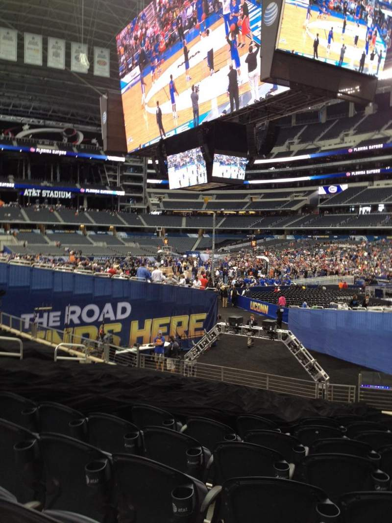 Seating view for AT&T Stadium Section 127 Row 12 Seat 4
