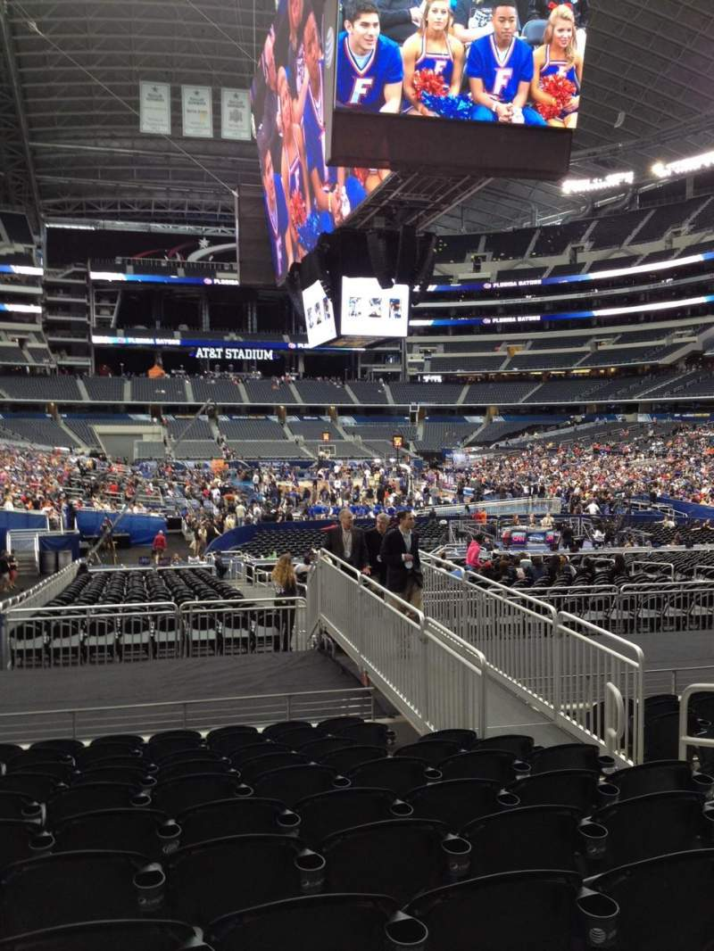 Seating view for AT&T Stadium Section 125 Row 18 Seat 6