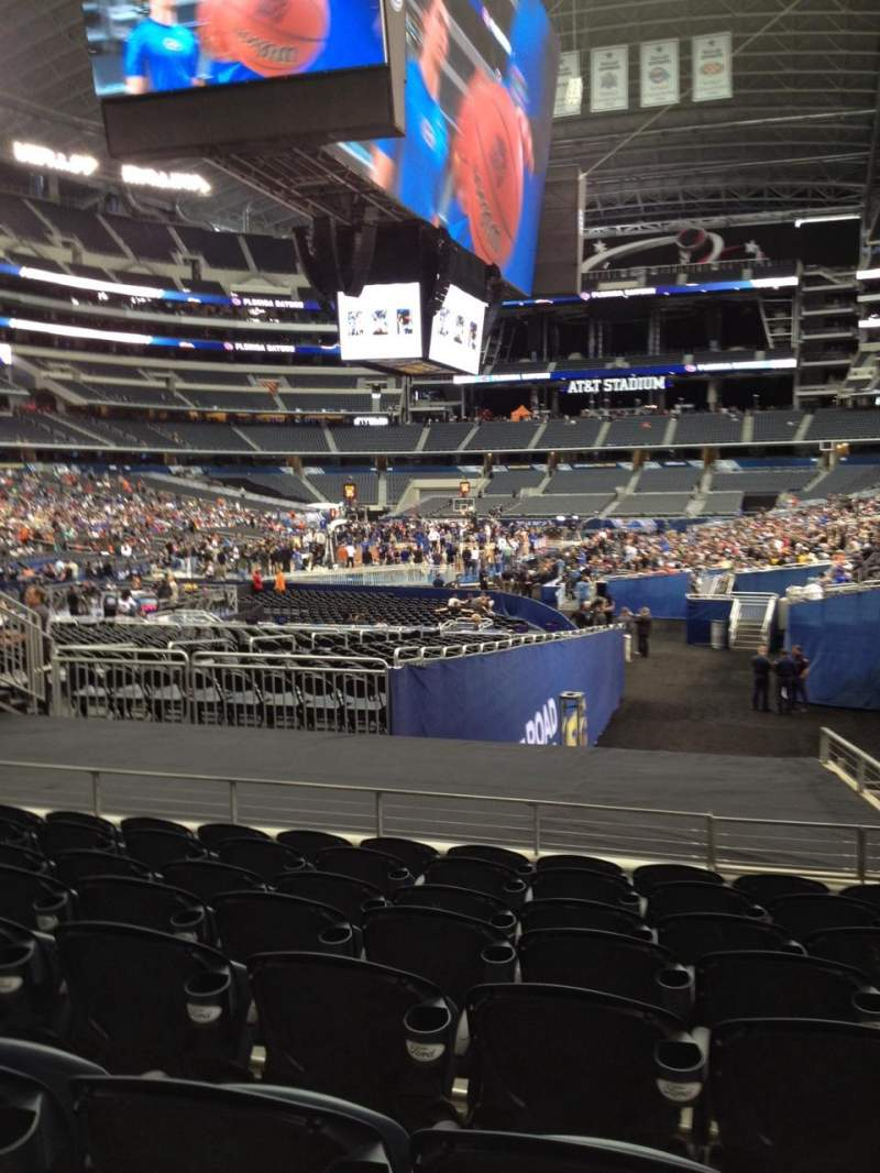 Seating view for AT&T Stadium Section 122 Row 17 Seat 3