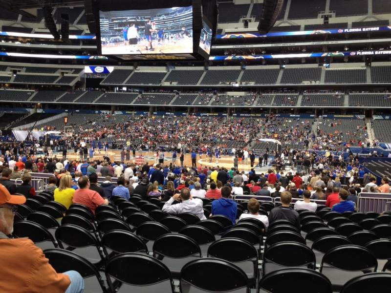 Seating view for AT&T Stadium Section C109 Row JJ Seat 8
