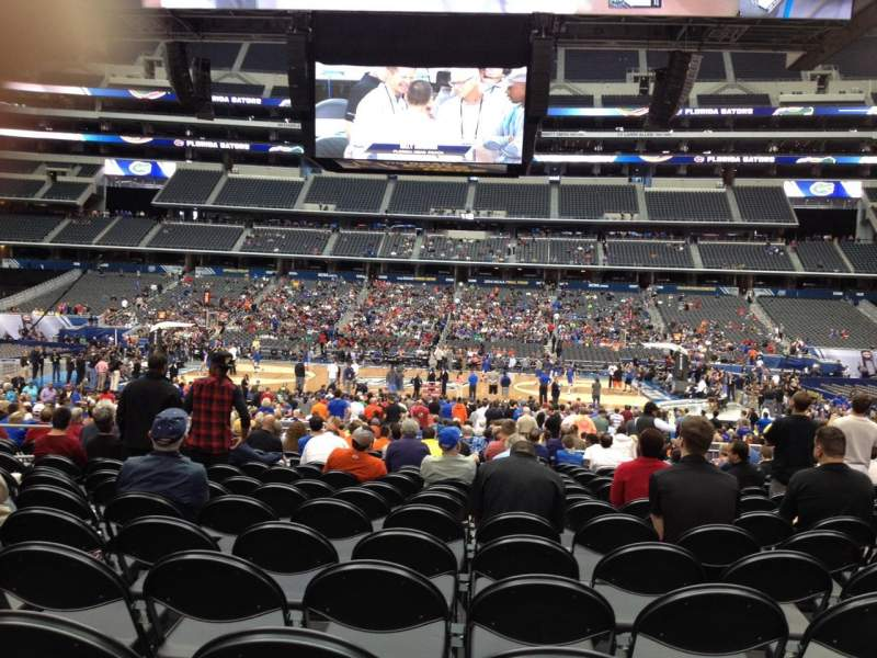 Seating view for AT&T Stadium Section C110 Row PP Seat 12