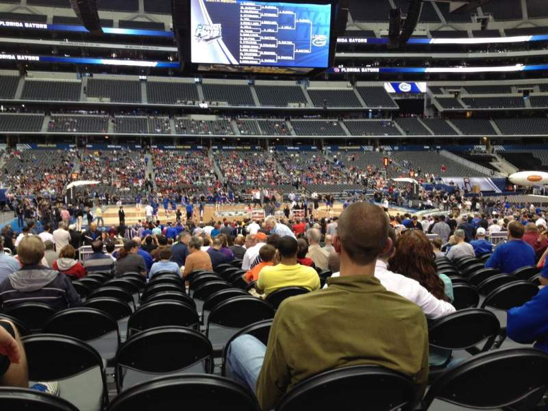Seating view for AT&T Stadium Section C111 Row LL Seat 16