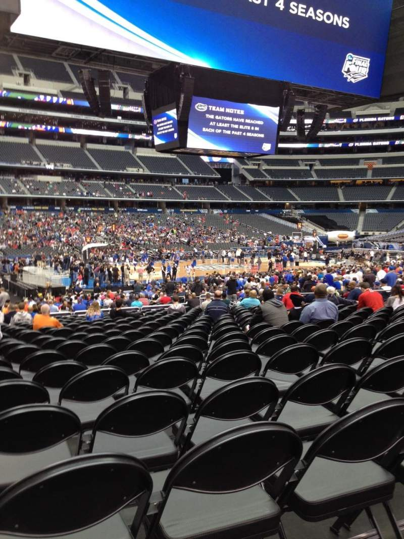 Seating view for AT&T Stadium Section C113 Row RR Seat 21