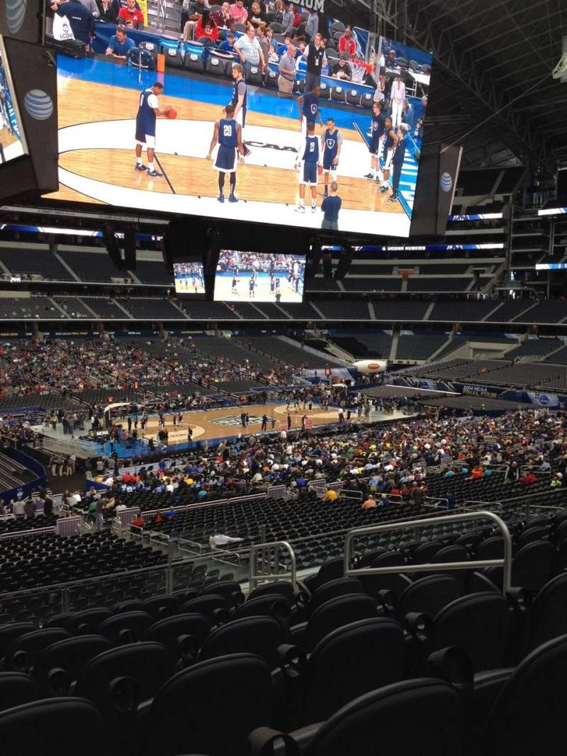 Seating view for AT&T Stadium Section C214 Row 9 Seat 6