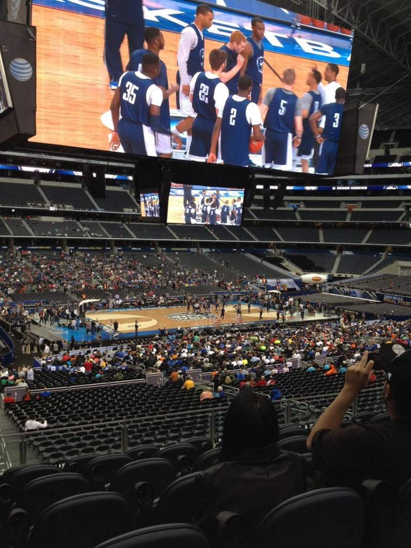 Seating view for AT&T Stadium Section C213 Row 7 Seat 12