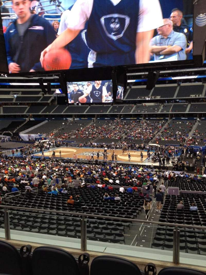 Seating view for AT&T Stadium Section C209 Row 2 Seat 2