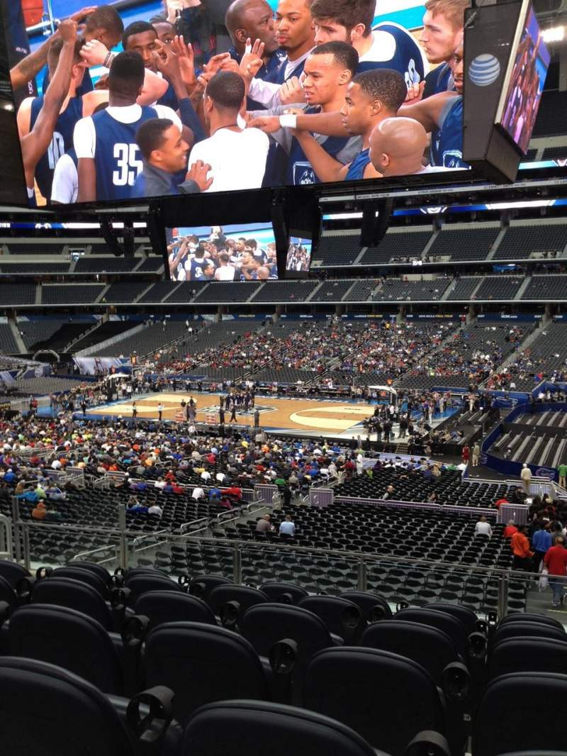 Seating view for AT&T Stadium Section C208 Row 4 Seat 9