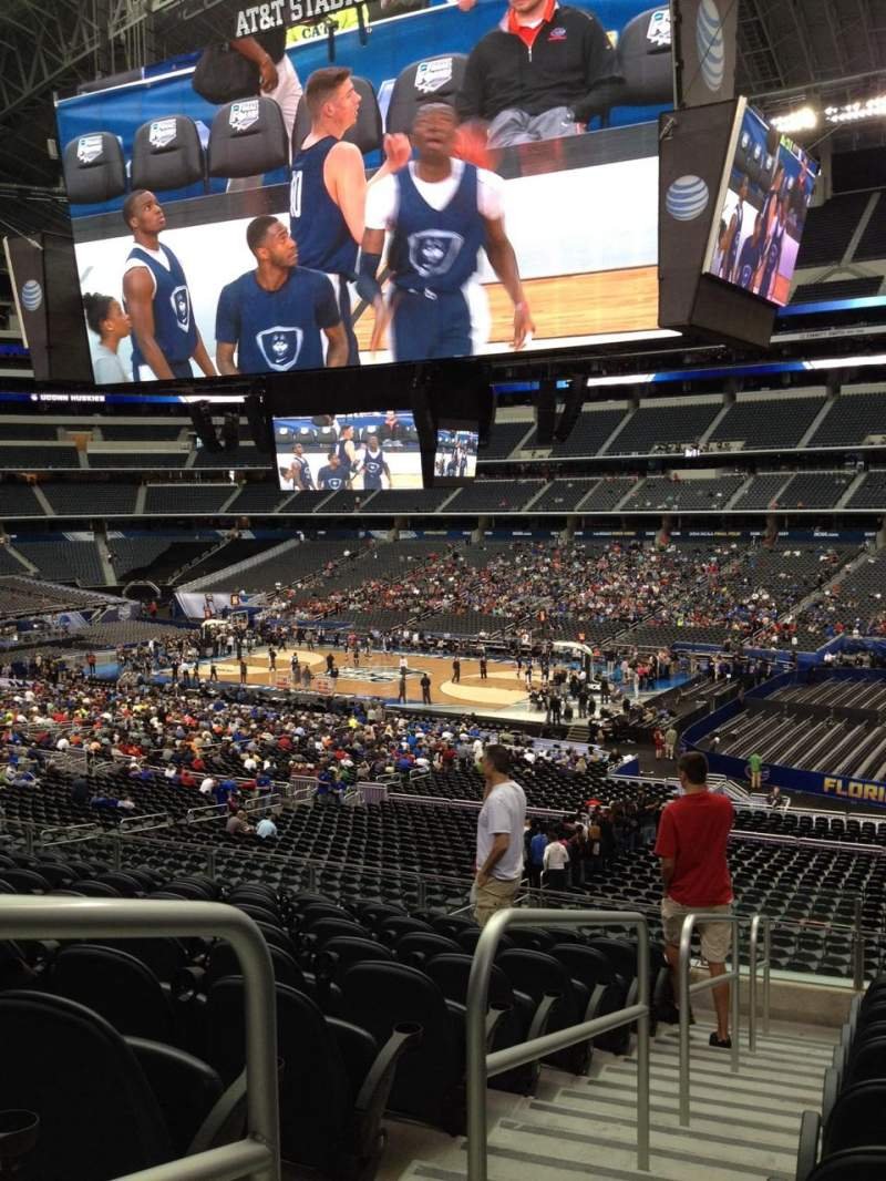 Seating view for AT&T Stadium Section C207 Row 7 Seat 15