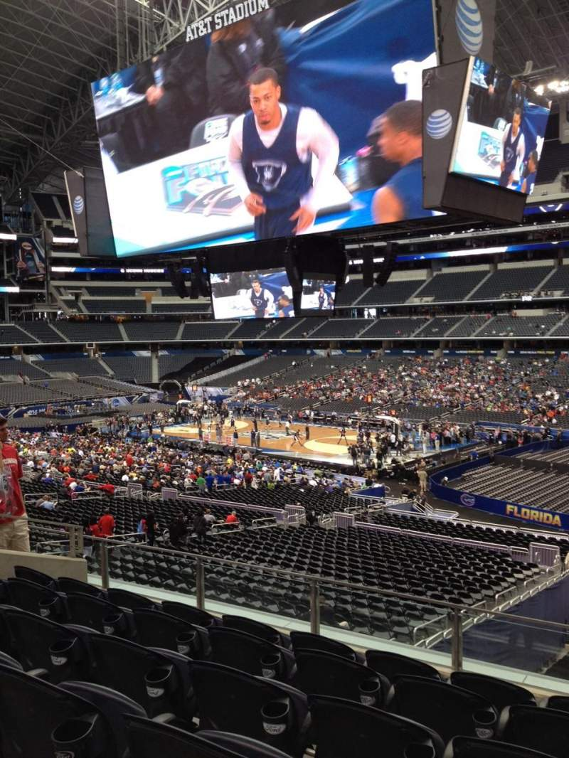 Seating view for AT&T Stadium Section C206 Row 11 Seat 10