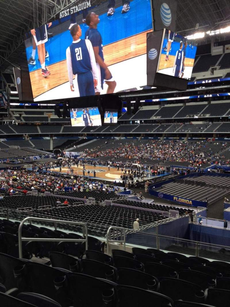 Seating view for AT&T Stadium Section 205 Row 6 Seat 2