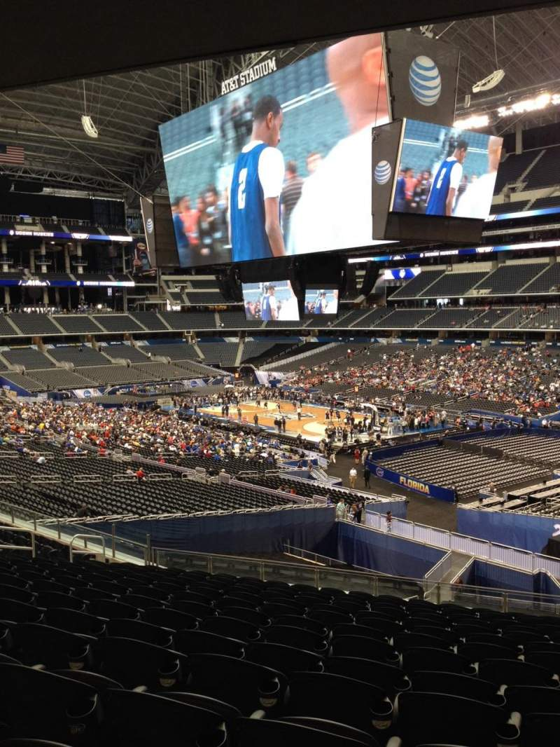 Seating view for AT&T Stadium Section 204 Row 9 Seat 13