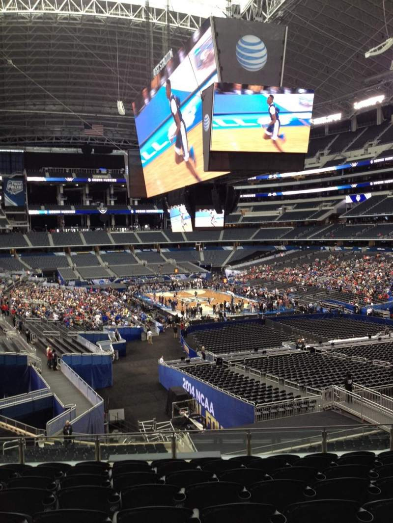 Seating view for AT&T Stadium Section 202 Row 11 Seat 10
