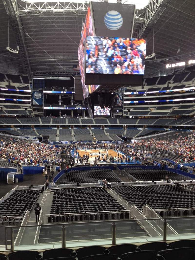 Seating view for AT&T Stadium Section 250 Row 8 Seat 12