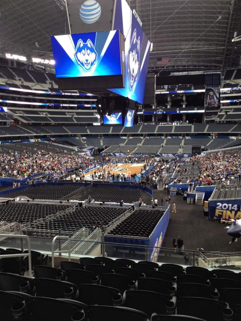 Seating view for AT&T Stadium Section 246 Row 5 Seat 18