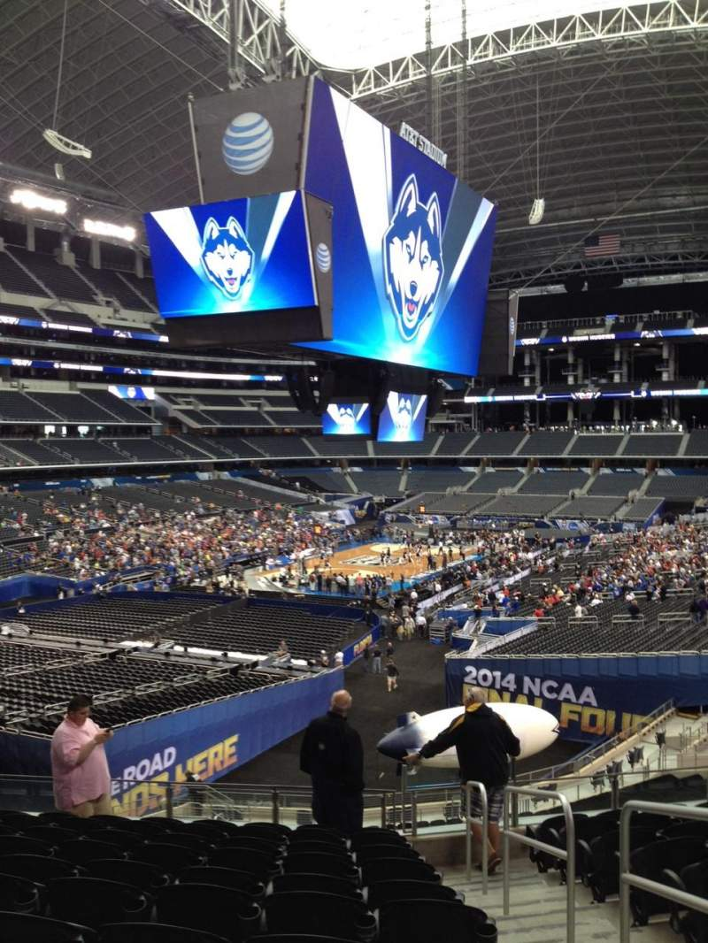 Seating view for AT&T Stadium Section 245 Row 9 Seat 9