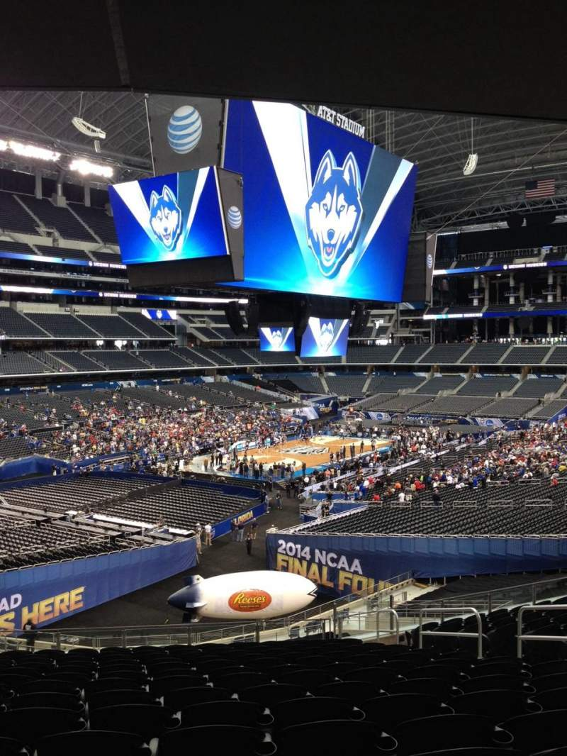 Seating view for AT&T Stadium Section 244 Row 11 Seat 2