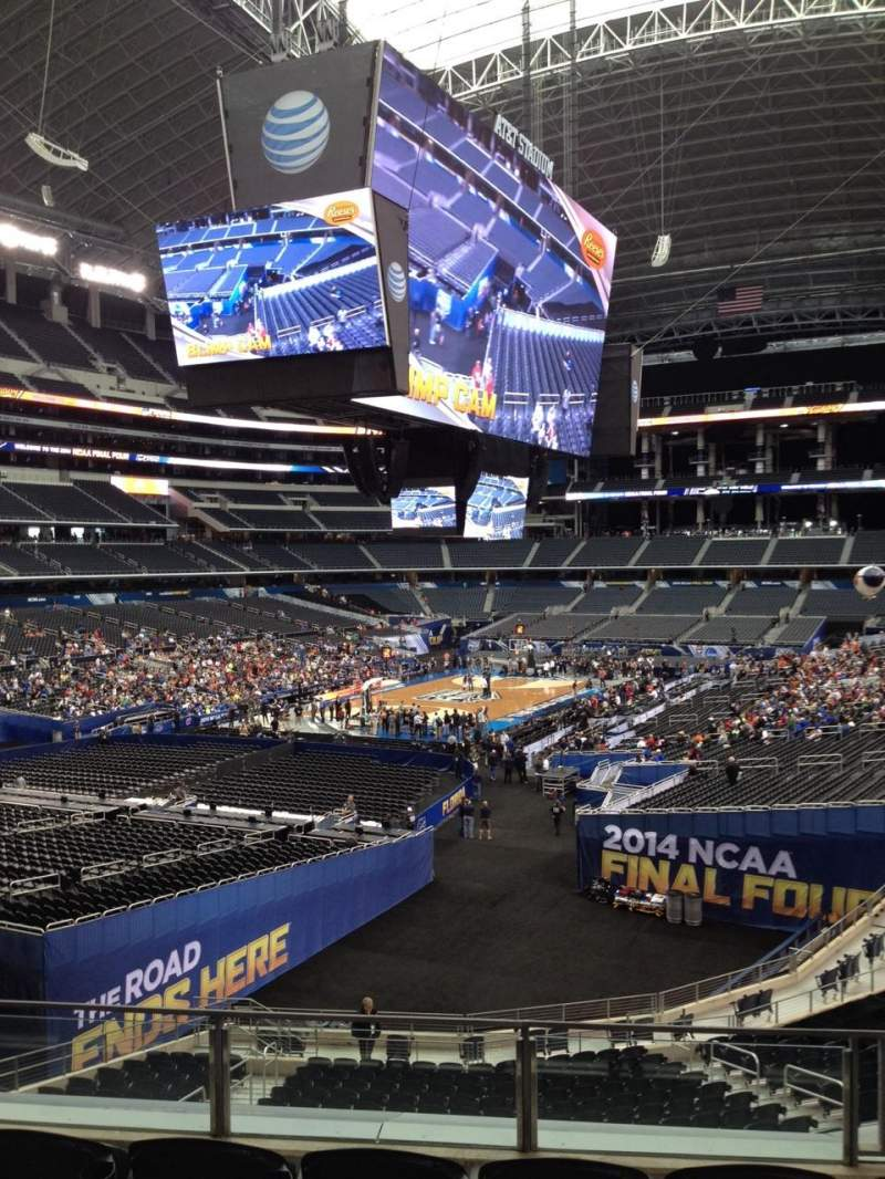 Seating view for AT&T Stadium Section 242 Row 15 Seat 24