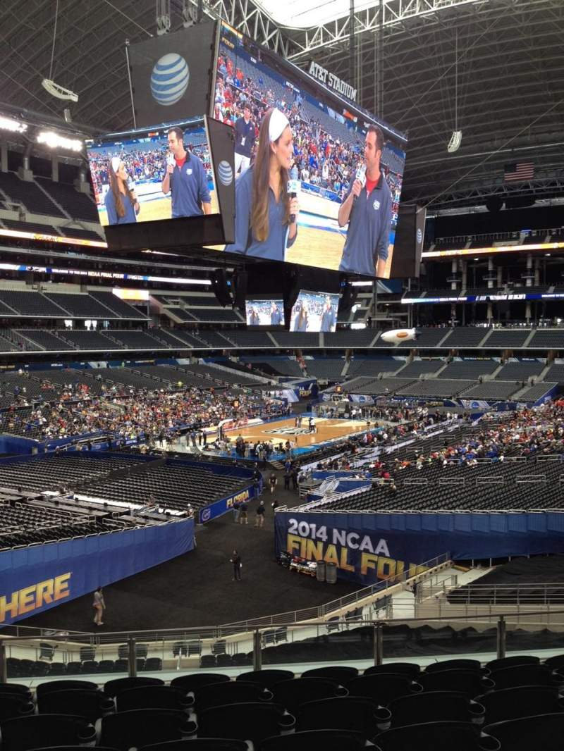 Seating view for AT&T Stadium Section 241 Row 11 Seat 9
