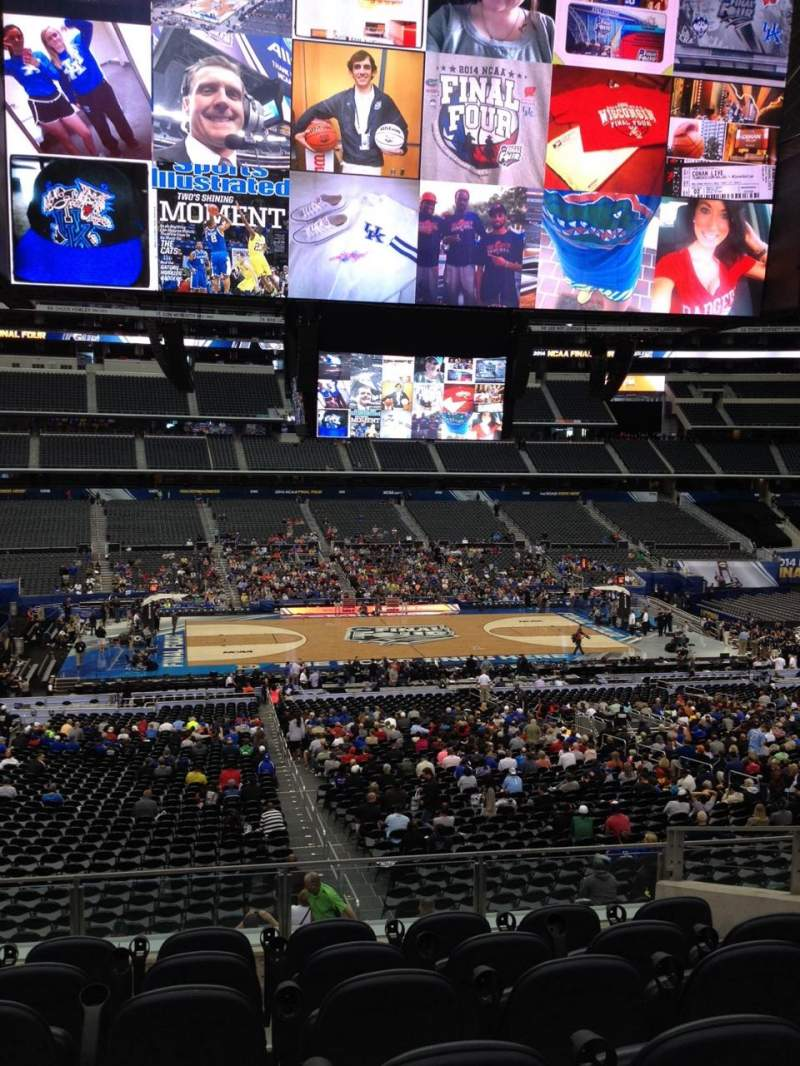 AT&T Stadium, section: C235, row: 9, seat: 39
