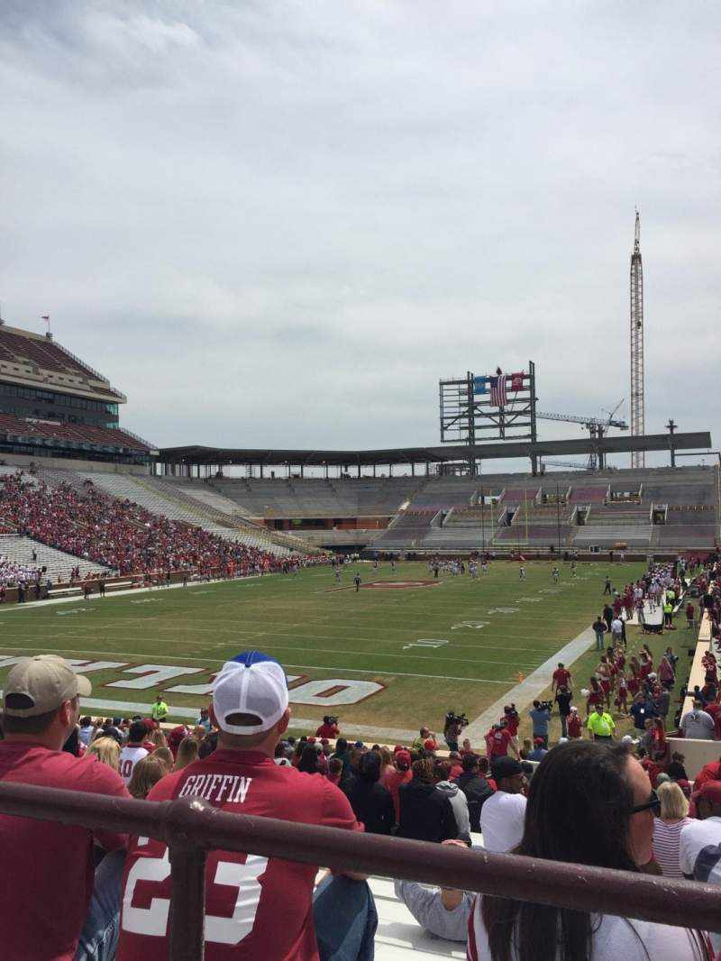 Seating view for Gaylord Memorial Stadium Section 16 Row 29 Seat 2
