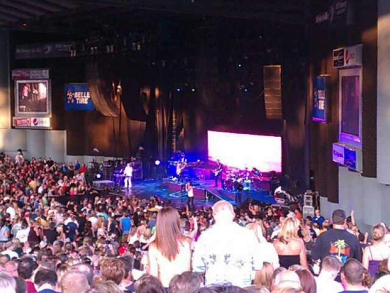 Seating view for DTE Energy Music Theater Section Z Row J Seat 11