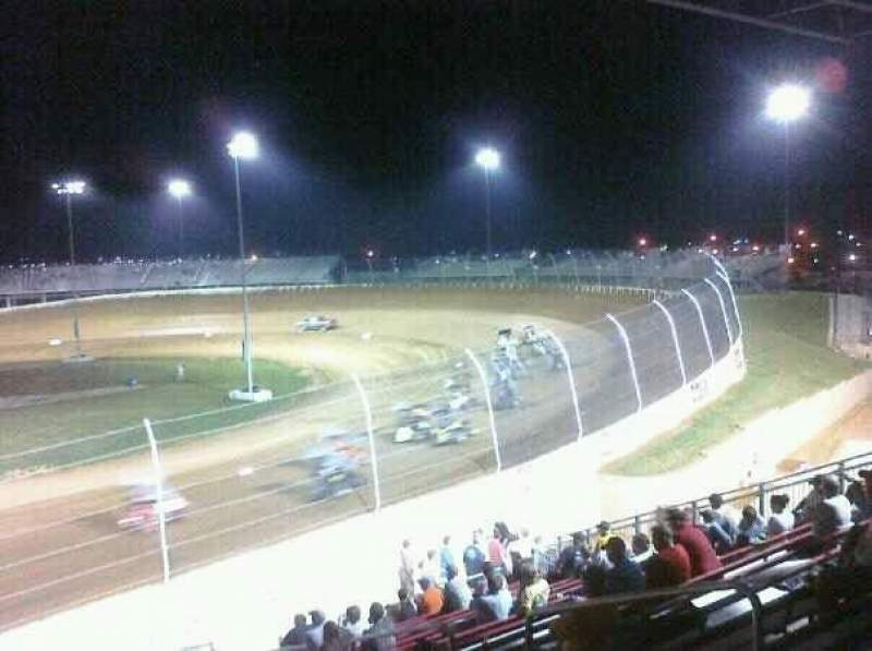 Seating view for Lawrenceburg Speedway
