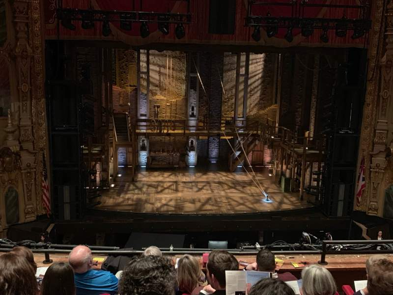 Seating view for Ohio Theatre (Columbus) Section Loge C Row E Seat 105