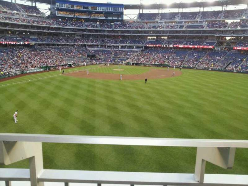 Seating view for Nationals Park Section 241 Row A Seat 2