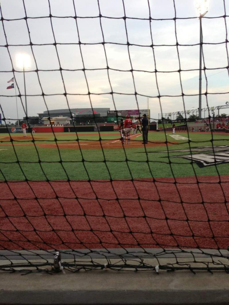 Seating view for QuikTrip Park Section 111 Row 1 Seat 7
