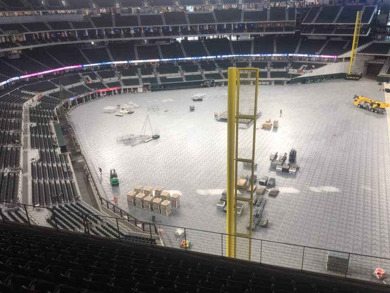 Seating view for Globe Life Field Section 232
