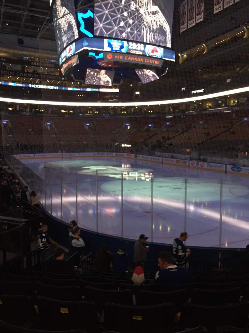 Seating view for Air Canada Centre Section 104 Row 14 Seat 12