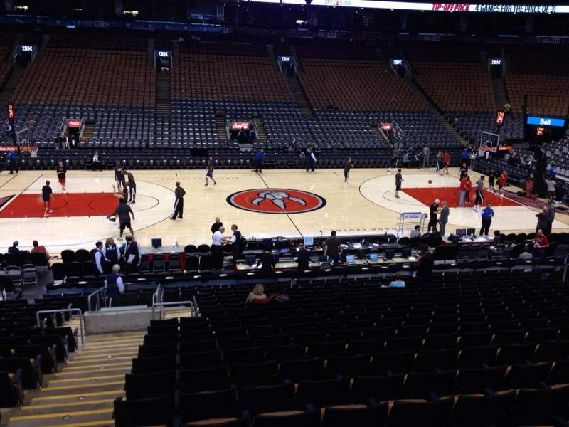 Seating view for Air Canada centre Section 120 Row 20 Seat 42
