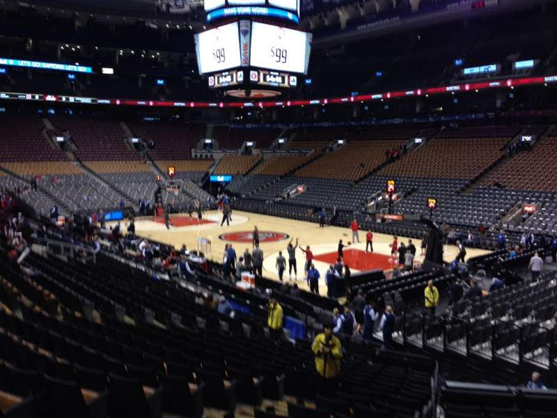 Seating view for Air Canada Centre Section 116 Row 20 Seat 10