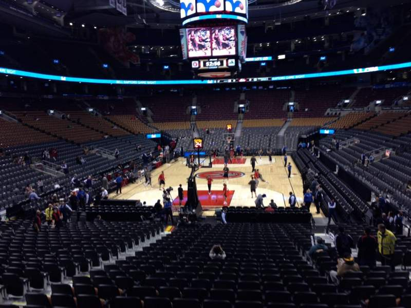 Seating view for Air Canada Centre Section 113 Row 20 Seat 13