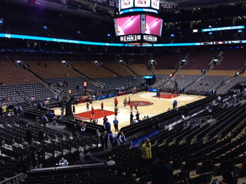 Seating view for Air Canada Centre Section 111 Row 21 Seat 10