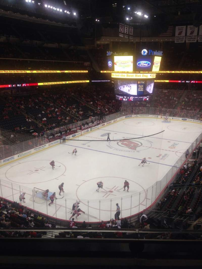 Seating view for Prudential Center Section 123 Row 02 Seat 12
