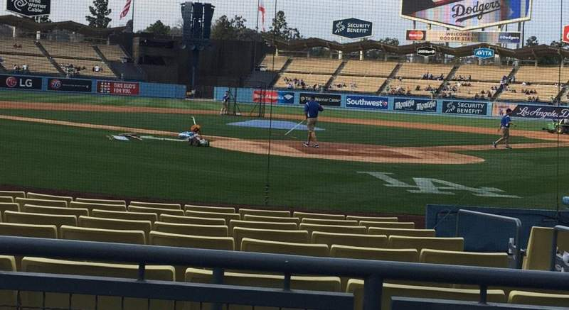 Seating view for Dodger Stadium Section 3FD Row A Seat 1