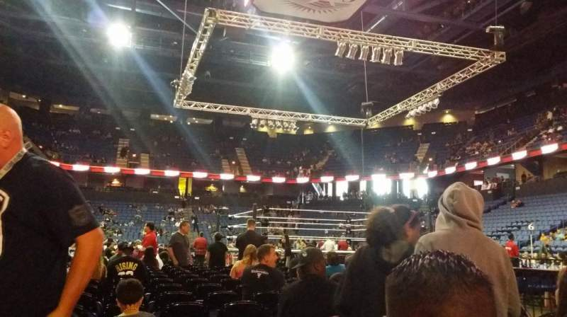 Seating view for Citizens Business Bank Arena Section FLR1 Row 14 Seat 5