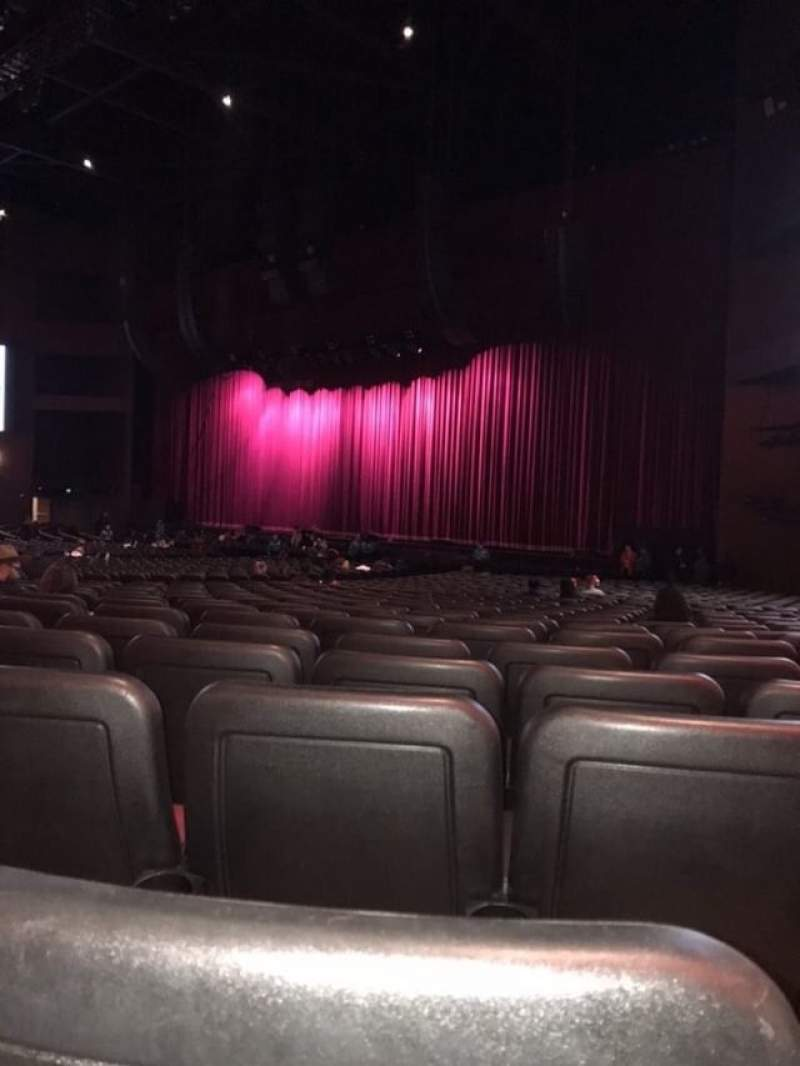 Seating view for Microsoft Theater Section Orchestra Right Row HH Seat 113