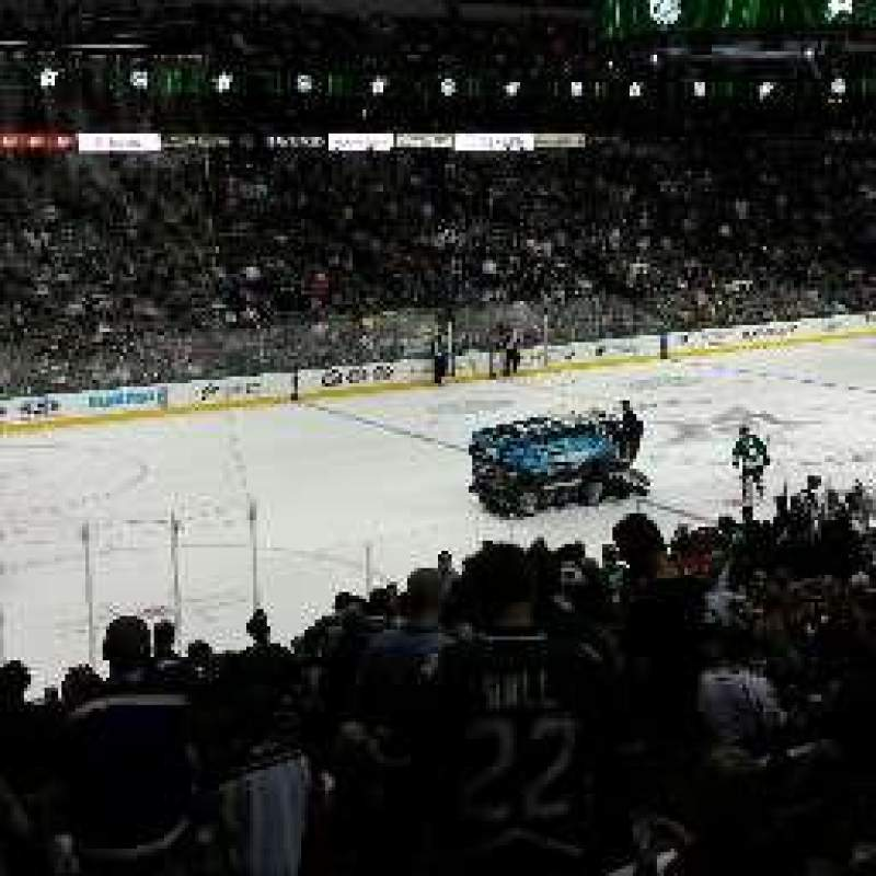 Seating view for American Airlines Center Section 121 Row W Seat 18