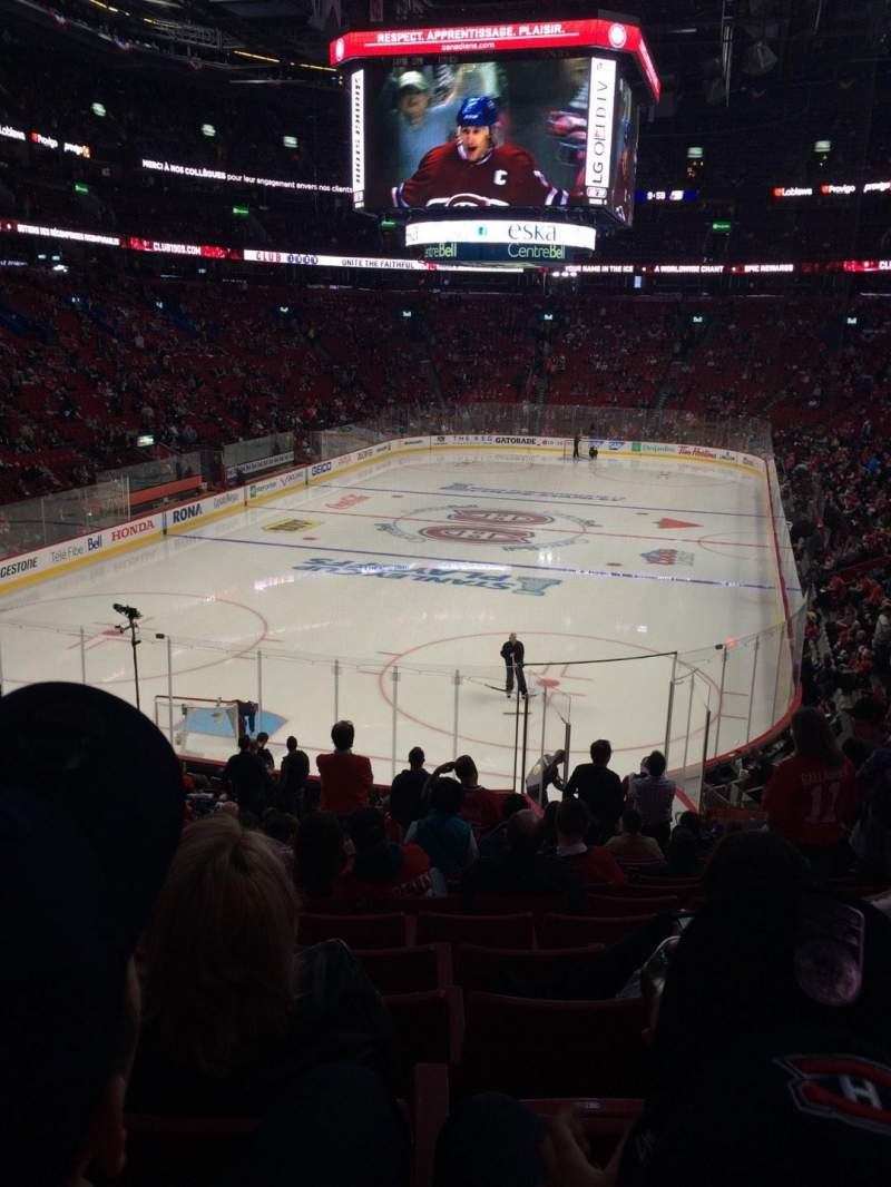 Seating view for Centre Bell Section 118 Row R Seat 14