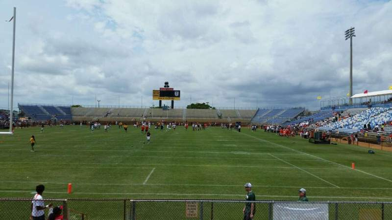 Seating view for Lockhart Stadium  Section 129 Row 13