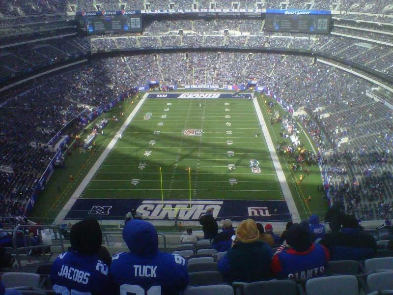 Seating view for MetLife Stadium Section 350 Row 18 Seat 28