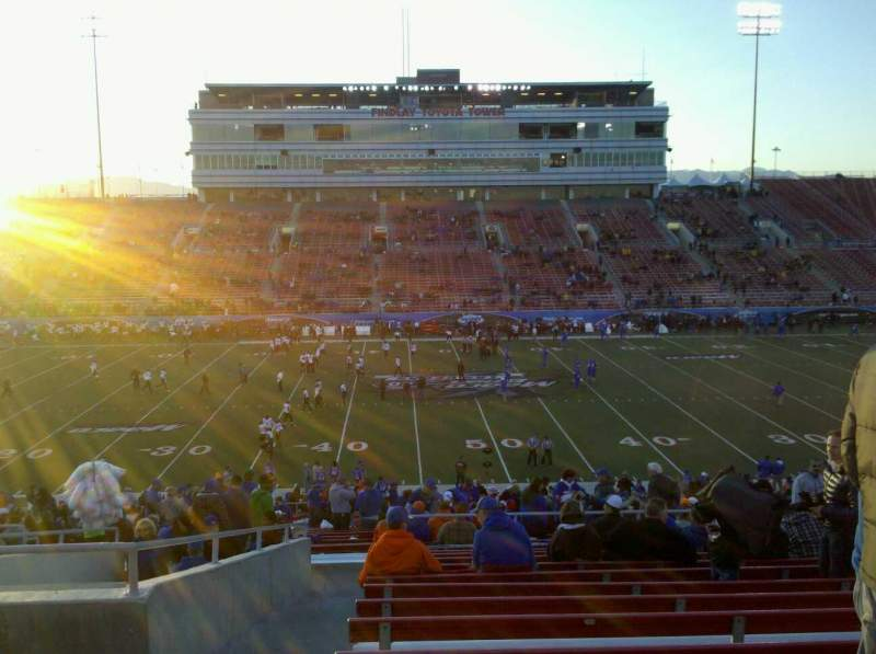 Seating view for Sam Boyd Stadium Section 307 Row 34 Seat 29