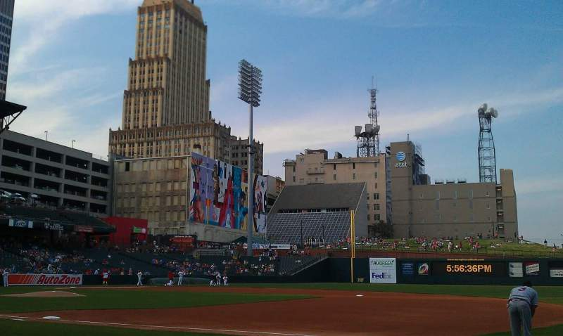 Seating view for Autozone Park Section 113 Row b Seat 3