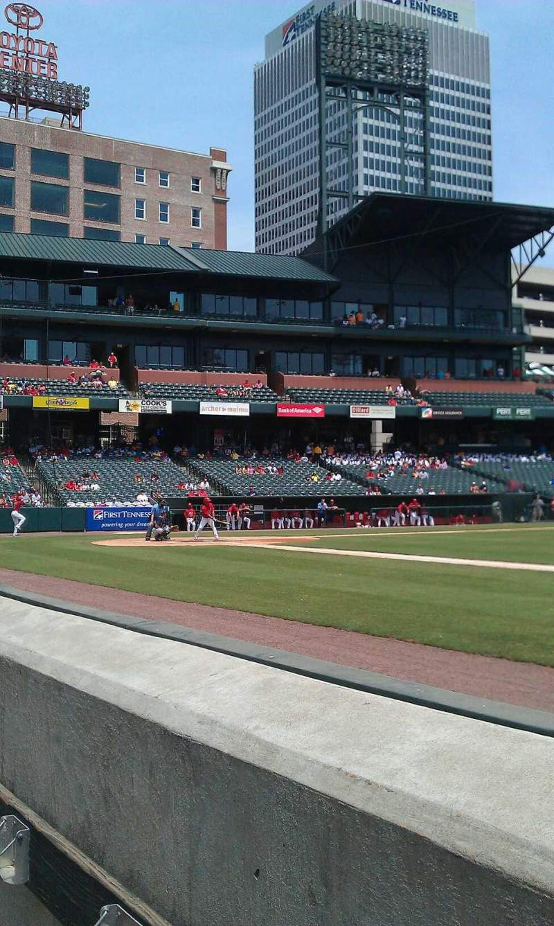 Seating view for Autozone park Section 111 Row A Seat 105