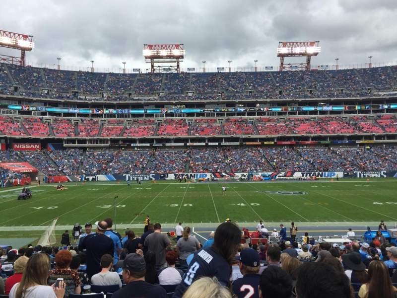 Nissan Stadium, section: 136, row: X, seat: 18