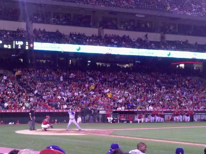 Angel Stadium, section: F125, row: g, seat: 15